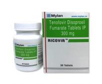 اشترِ Ricovir 300mg Tablet بكميات كبيرة بسعر الجملة