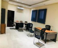 مكاتب مؤثثة فاخرة بمساحات مختلفة وأسعار مخفضة