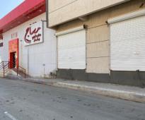 محلين للايجار الموقع حي المنتزة شارع ابي دجانة