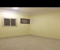شقة صغيرة للعائلات  في الدور الارضي - للايجار