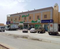 للإيجار عمارة م 1691م2  زاوية . مخصصه شقق مفروشه موقع حيوي اليرموك . شرق الرياض