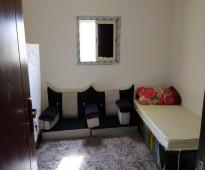 للايجار ملحق جديد غرفتين وغرفة مفروشة الشرفية
