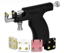 مسدس ثقب الأذن معدن اصلى