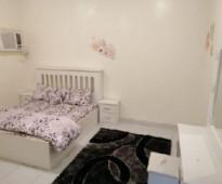 شقة مفروشة للإيجار مكونة من غرفتين