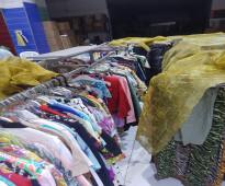 للبيع ملابس جاهزه تصفيه كامله