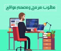 مطلوب مبرمج ومصمم مواقع ومتاجر الالكترونية خبرة خبرة