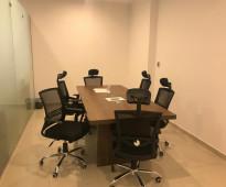 مكاتب رواسى للايجار المشتركة