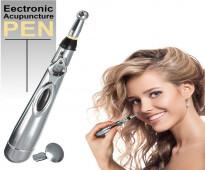 قلم المساج بالنبضات الكهربائي لتخفيف الالام و التشنجات بالعضلات