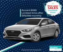 Hyundai Accent 2020 for rent (Limited offer)