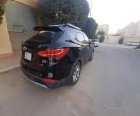 -السيارة: هونداي - سنتافي نص فل سعودي