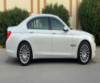 للبيع BMW الفئه السابعه 2011