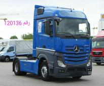 الشاحنه العالميه مرسيدس اكتروس ٢٠١٣ حاله شبه جديده للبيع الان