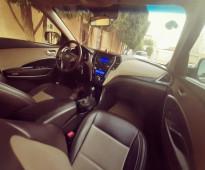 ـ السيارة : هيونداي سنتافي نص فل