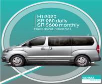 Hyundai H1 2020 for rent