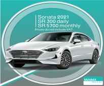 Hyundai Sonata 2021 for rent