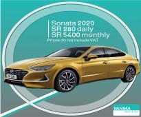 Hyundai Sonata 2020 for rent