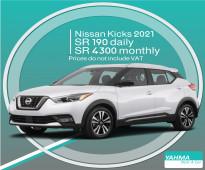 Nissan Kicks 2021 for rent