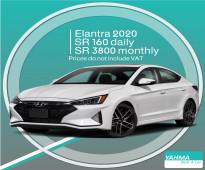 Hyundai Elantra 2020 for rent