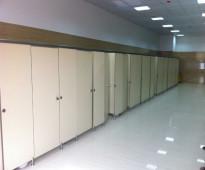 قواطع و ابواب دورات مياه فينوليك phenolic doors