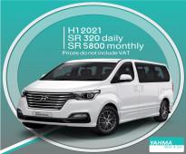 Hyundai H1 2021 for rent