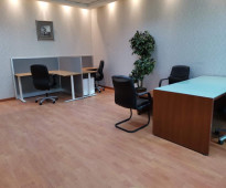 For rent furnished offices