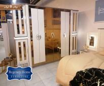 غرفة نوم مميزة و حديثة بدولاب 8 ابواب