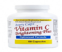 إيفوري كابس فيتامين سي لتفتيح البشرة مع 60 كبسولة