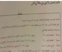ارض للبيع شرق الرياض مخطط 3441