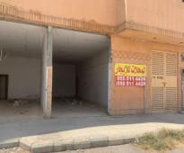 5 محلات للإجار لبن شارع نجران