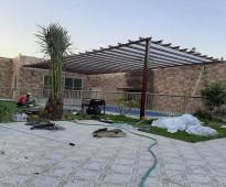 تركيب مظلات حدائق ومظلات سيارات بارخص الاسعار بالرياض 0555297757