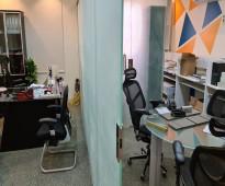 مكتب 50 متر للتقبيل حي الملقا شارع الخير