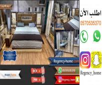غرفة نوم جديدة بدولاب 8 باب