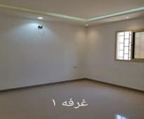شقه عوايل دور ثالث بحي الرمال الذهبي