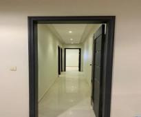 شقة نظام دورين  المساحة : 160 م