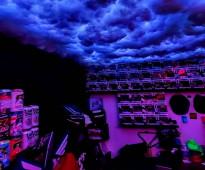 سقف غيوم اضاءة - جدة