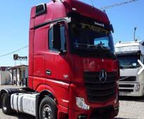 للبيع شاحنه مرسيدس اكتروس  1845 mp4 (2*4) موديل : 2013