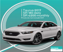 Ford Taurus 2017 for rent