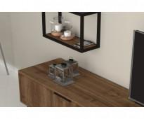 طاولة تلفزيون لون بني