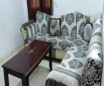 شقة مفروش للايجار تتكون من غرفتين وصاله