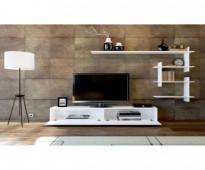 طاولة تلفزيون لون ابيض صناعة تركية