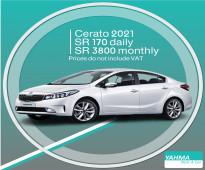 Kia Cerato 2021 for rent