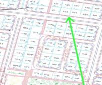 ارض علي شارع 32م