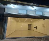 محل للايجار شارع حسان بن ثابت بالنسيم الشرقي