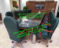 ترابيزات اجتماعات وكراسي لدي اوفيس وود 01003755888