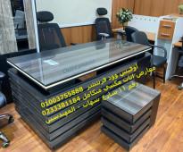 مكاتب خشب وكراسي طبيه اعلي جوده لدي اوفيس وود 01003755888