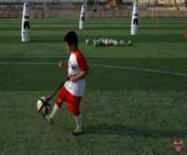 حزام التدريب الكروي لتعليم أساسيات كرة القدم