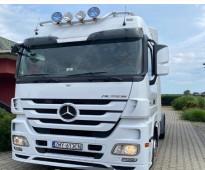 للبيع شاحنه مرسيدس اكتروس 1844(mp3 (4*2 موديل : 2012