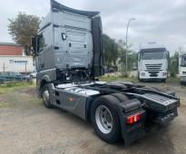 راغبى الشاحنات العالميه بحاله ممتازه استيراد للبيع شاحنه مرسيدس اكتروس 1845 mp4 موديل : 2013