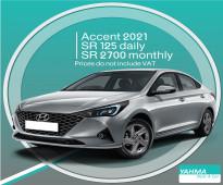 Hyundai Accent 2021 for rent in Riyadh and Dammam