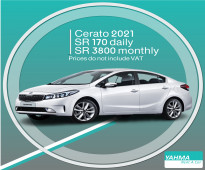 Kia Cerato 2021 for rent (Free Delivery for monthly rental)